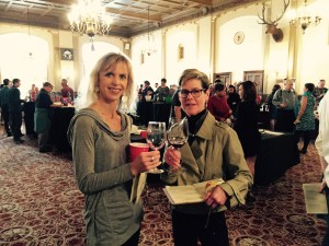 Kristen Austin and Susan Darwin take the Cabernet Shootout Challenge