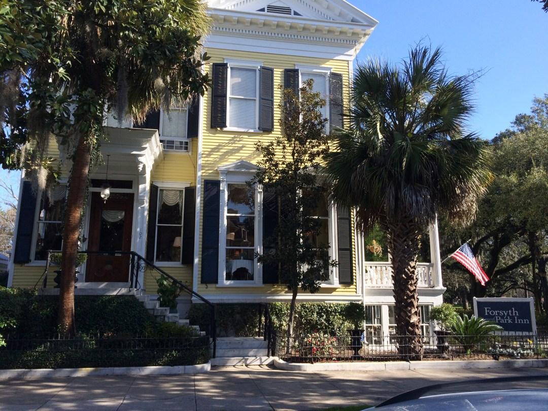 The Forsyth Park Inn in Savannah, Georgia.