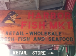 Welcome to the Harbor Fish Market!