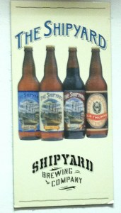 Welcome to Shipyard Brewing Company!
