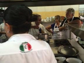 Cooking class at El Arrayán