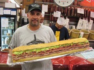 Three-foot Hero Sandwich