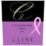 Cline Cashmere front label