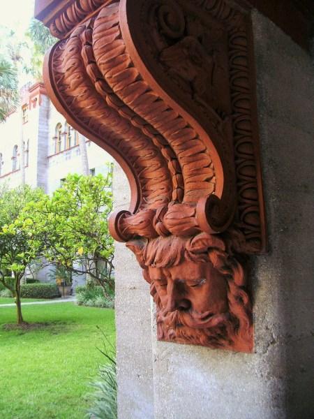 Detail: Lightner Museum Garden