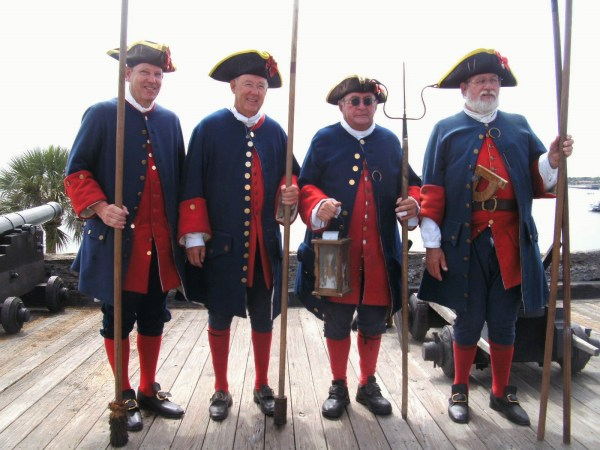 Gentlemen Soldiers, Castillo de San Marcos