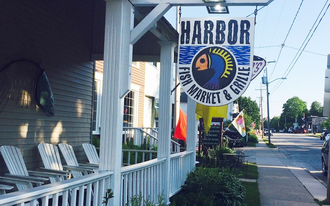 Sample the Delectable, Local Fare at the Harbor Fish Market and Grille in Door County, Wisconsin