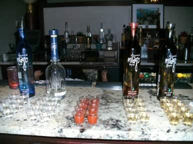 Tequila tasting, Casa Monica hotel