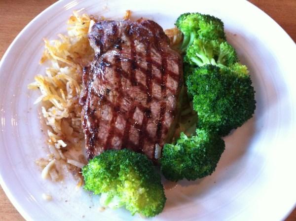 Fabulous steak.