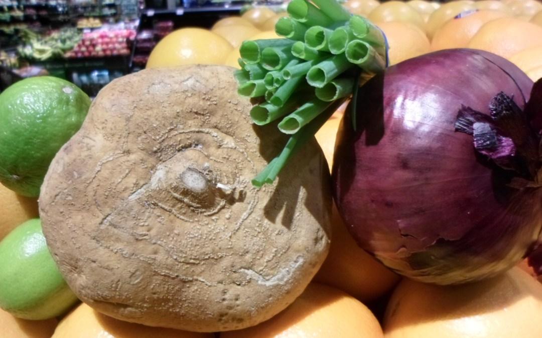 Jicama & Orange Salad