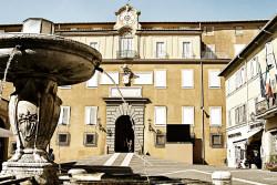 Main entrance to the Pontifical Villas