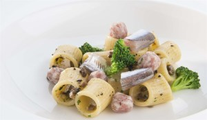Bartolini's pasta with eel and brocoli