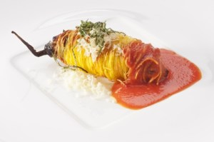 Eggplant cannolo
