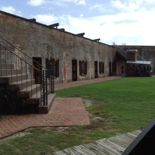 Central Courtyard Ft. Macon State Park