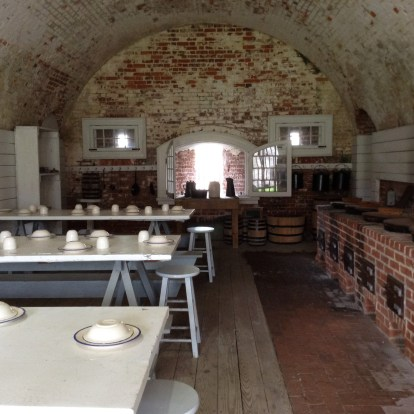 Mess Hall, Ft. Macon State Park