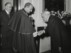 Gioacchino Alemagna with Pope Paul VI