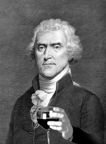 Thomas Jefferson:  America's First Oenophile and Foodie