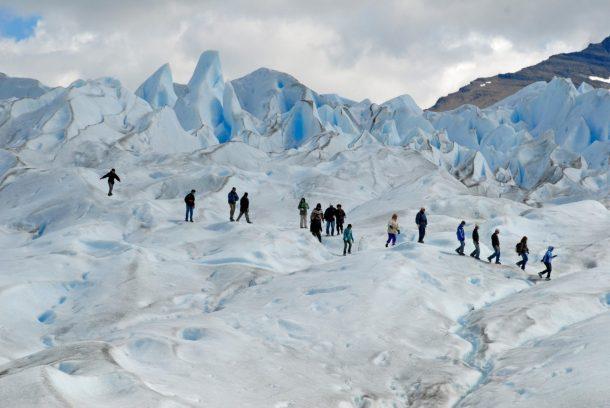 Trekking Perito Mereno Glacier, Argentina