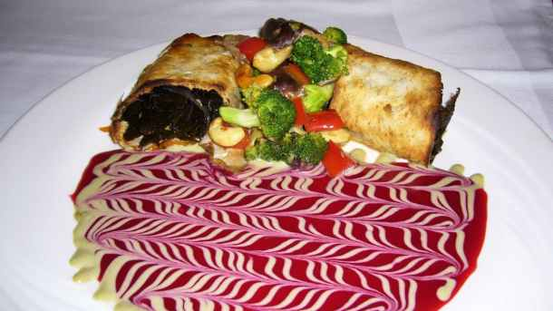 Stanford Inn Ravens Sea Palm Strudel