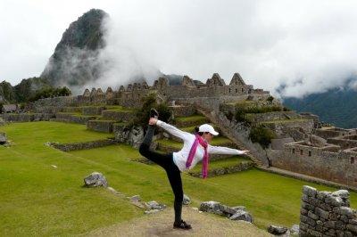 Do yoga in Peru's Sacred Valley. Photo courtesy of Yajra Sol Yoga Adventures.