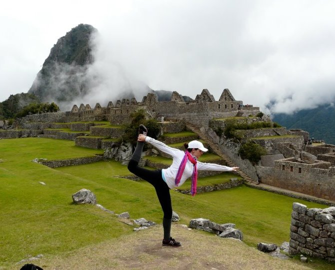 Do yoga in Peru's Sacred Valley. Photo courtesy of Yajra Sol Yoga Adventures.