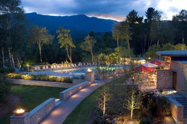 TopNotch Resort in Stowe, Vermont. Photo courtesy of TopNotch.