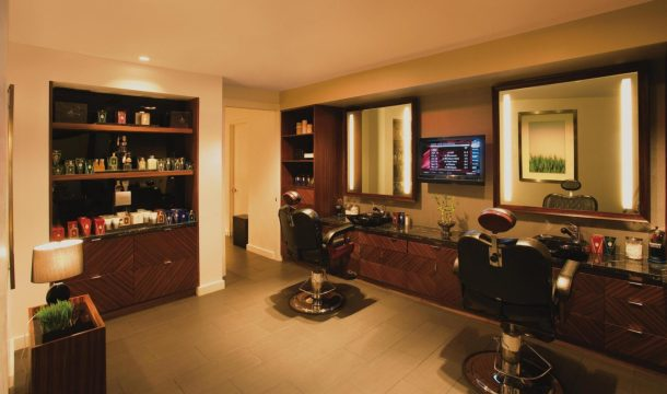 The Barber Shop. Photo courtesy of The Mirage.