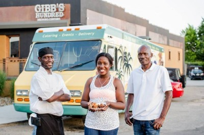 King-Queen Haitian Cuisine Food Truck. Photo courtesy of Ethnosh.