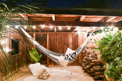 Cotton hammock. Photo courtesy of Yellow Leaf.