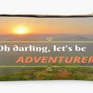 adventure travel pouch
