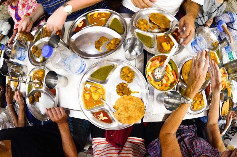 where to eat in Delhi