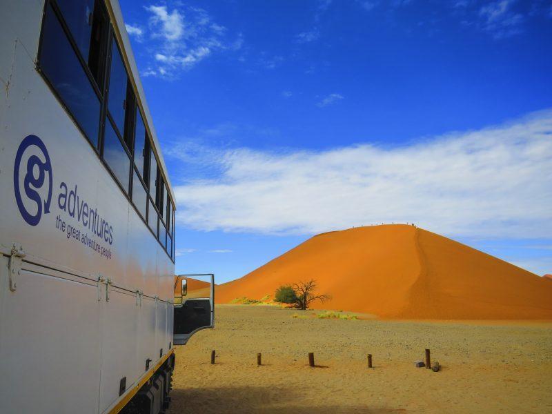 Conservation safaris Namibia Sand Dunes