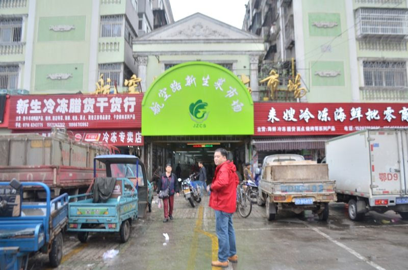 markets in China