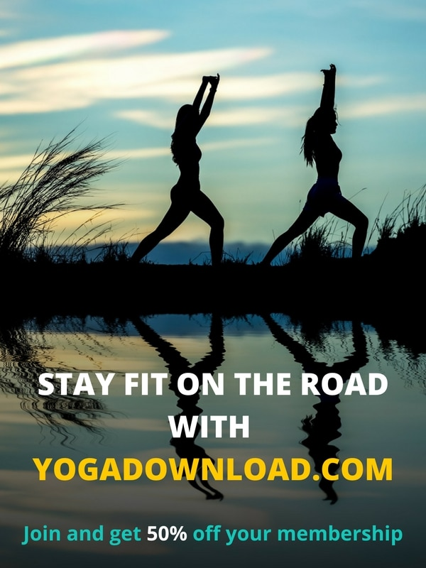 yoga on the go