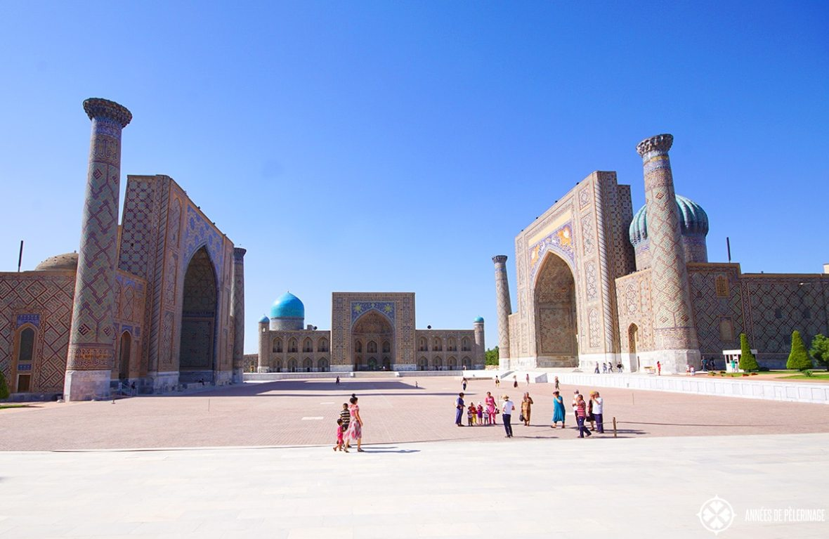 Islamic culture at the Registan Ensemble Uzbekistan