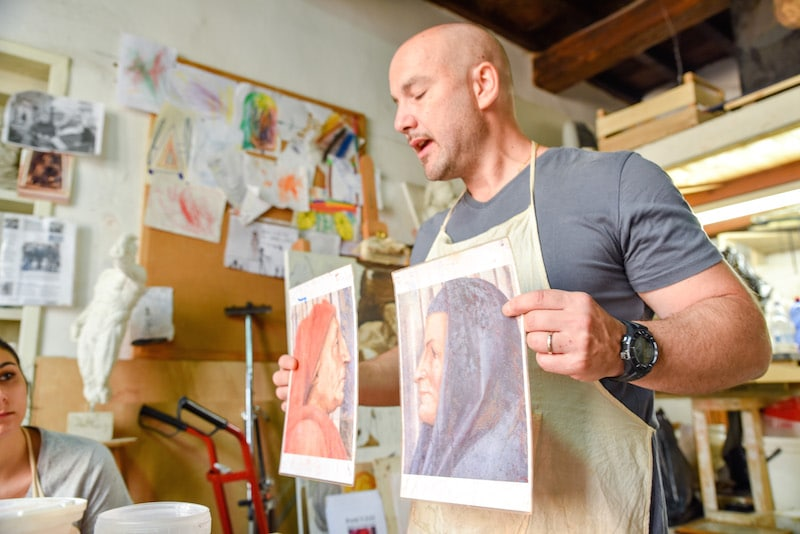 art classes in florence fresco workshop