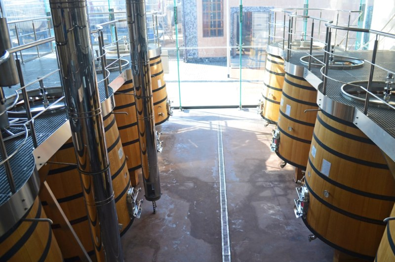 eastern european wine Shabo storage facilities