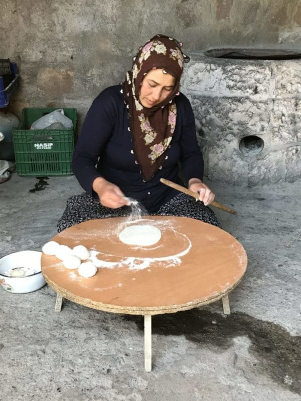 food in Turkey Babayan Evi restaurant