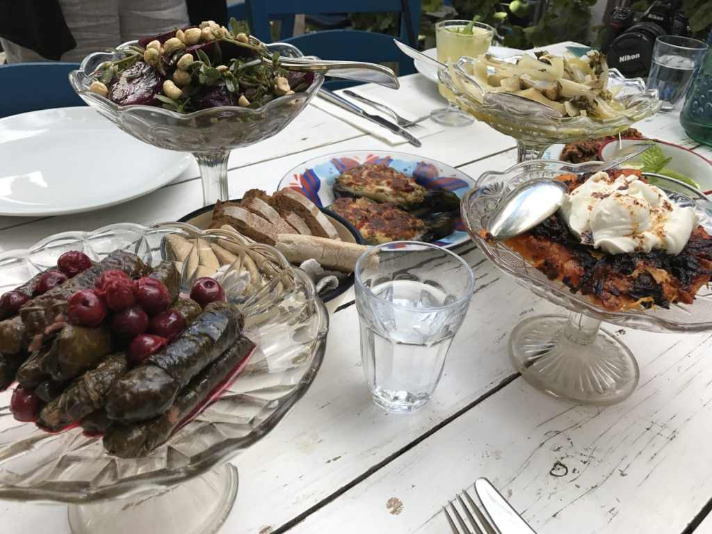 food in Turkey Asma Yapragi Restaurant