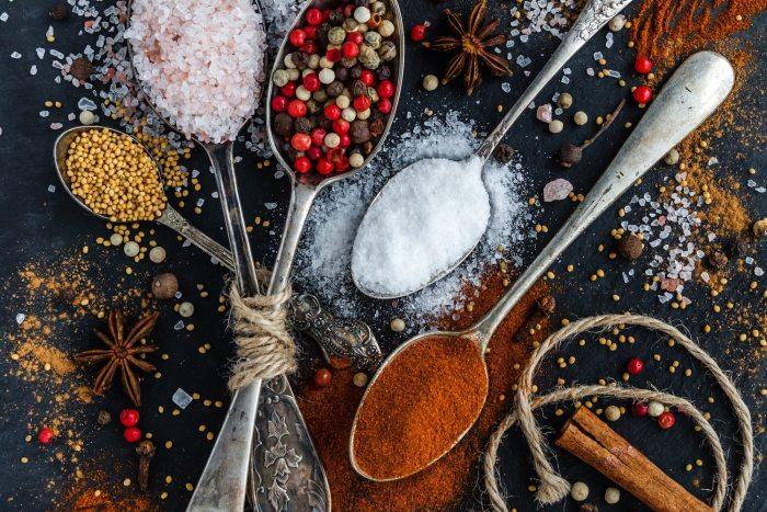 food in turkey spices