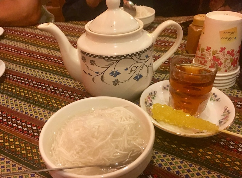 Food in Iran is perhaps most famous for its sweet dishes like faloudeh