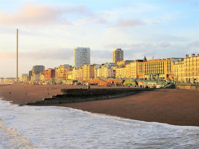 brighton england seafront