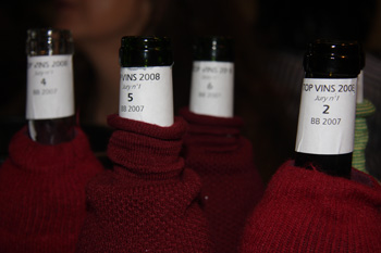 Dégustation top vins