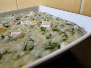 risotto-au-poulet-chevre-et-basilic