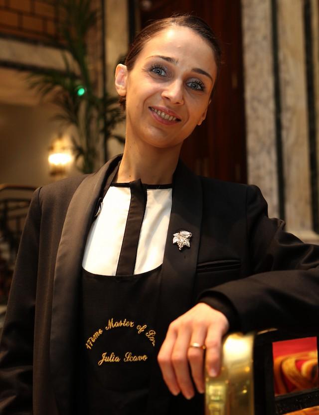 La sommelière Julia Scavo sacrée Master of Port / www.epicuriendusud.com