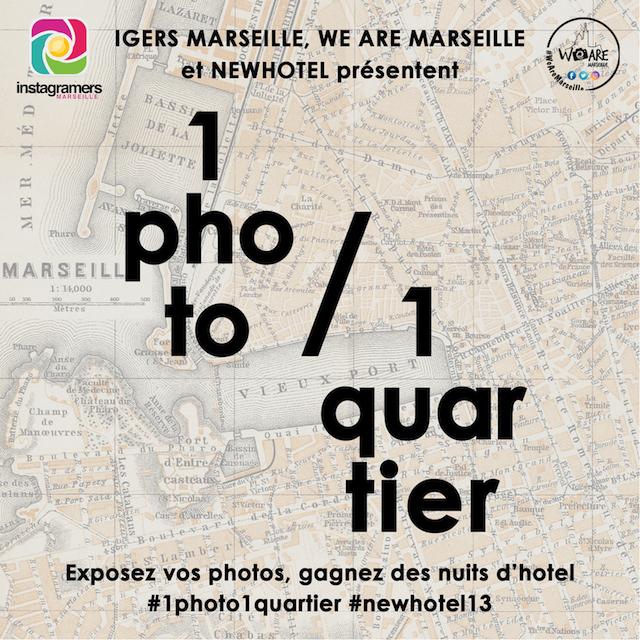 Le groupe NewHotel expose Marseille sur Instagram