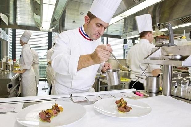 Christophe Pacheco (MOF Cuisine 2011), chef exécutif des Îles Paul Ricard