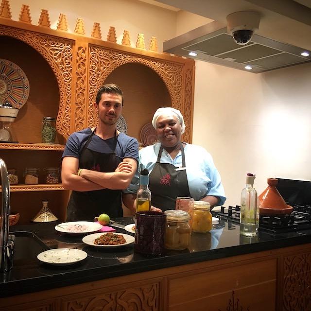 Cours de cuisine à La Maison Arabe - www.epicuriendusud.com