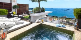 Le Grand Hôtel Cannes ***** | Chambre Jacuzzi