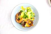 Hôtel - Restaurant Lido Beach - Hyeres (83) - Poulpe sauté - www.epicuriendusud.com