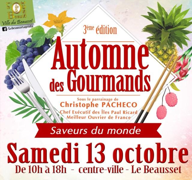 3ème Édition de l'Automne des Gourmands・Le Beausset (83) - www.epicuriendusud.com